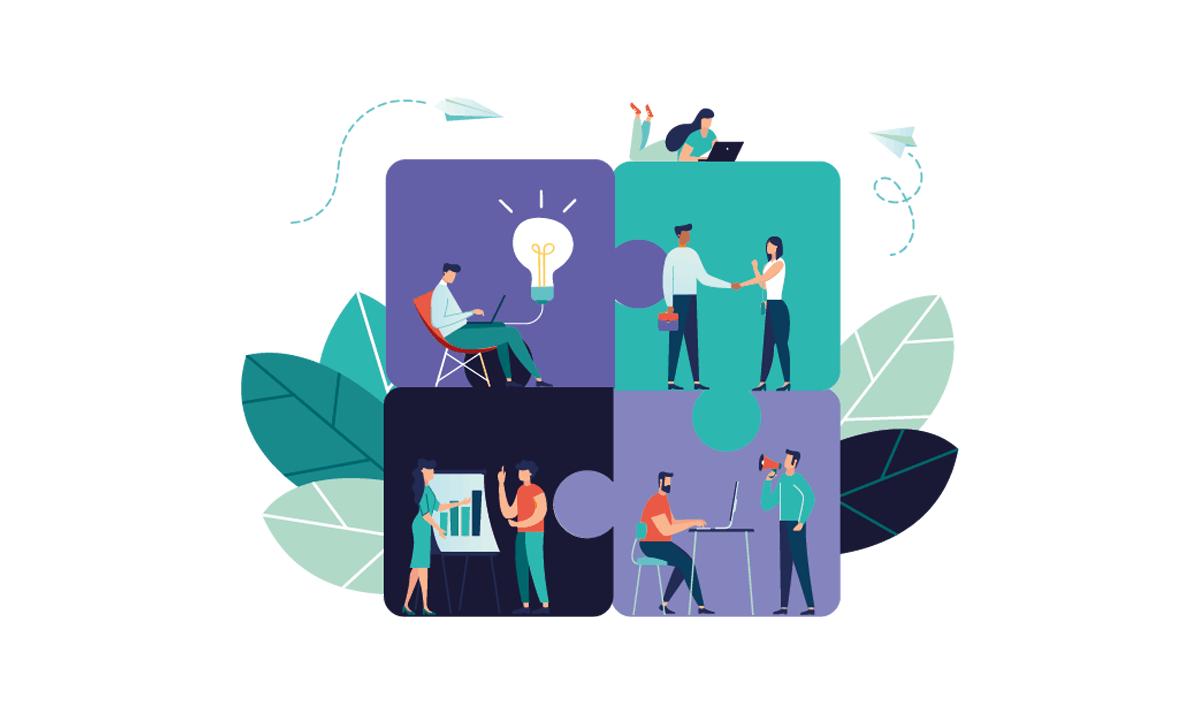 être pret à bâtir un programme de mentorat, pièces de puzzle
